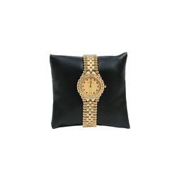 "3"" Black Leatherette Pillow Displays"