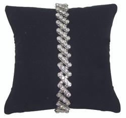 """5"""" Black Velvet Pillow Displays"""
