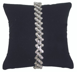 "4"" Black Velvet Pillow Displays"