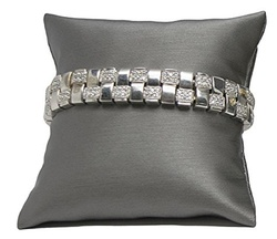 "3"" Steel Grey Pillow Displays"