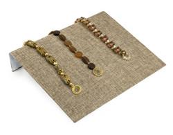 """Burlap Fabric 10 1/4"""" Wide Bracelet Ramp"""