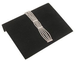 "Black Velvet 10 1/4"" Wide Bracelet Ramp"