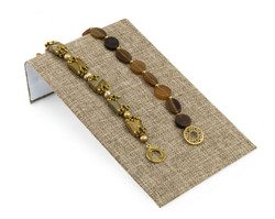 "Burlap Fabric 4 3/4"" Wide Bracelet Ramp"
