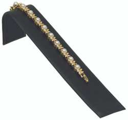 "Black Velvet 1 1/2"" Wide Single Bracelet Ramp"