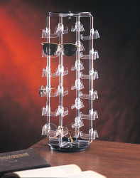 24 Pairs Rotating Eyewear Display