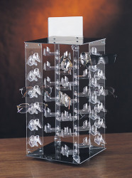 48 Pairs Enclosed Rotating Eyewear Display