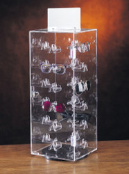 24 Pairs Enclosed Rotating Eyewear Display