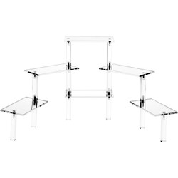 Multi-Platform Rectangular adjustable Risers