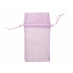 "Lavender Organza Bags - 12 Bags/Pack (4""W x 5""H)"