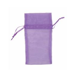 "Purple Organza Bags - 12 Bags/Pack (1 3/4""W x 2""H)"
