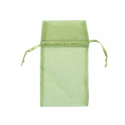 "Teal Green Organza Bags - 12 Bags/Pack (1 3/4""W x 2""H)"