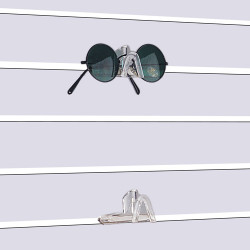 Slatwall Eyewear Display