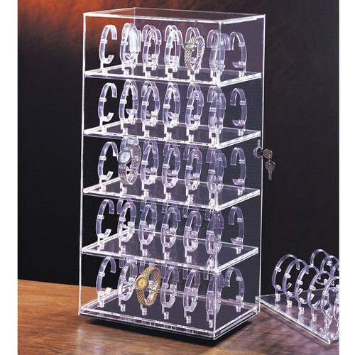 Watch Display Case For Up To 60 Watches 888 Display Usa
