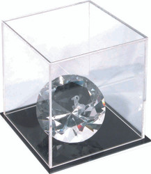 Ultra Clear Acrylic Display Cube.  Jewelry NOT INCLUDED.