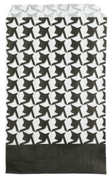 """Houndstooth Pattern Paper Bags - 100Bags/Pack (4"""" x 6"""")"""