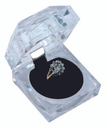 Crystal Style Ring Box