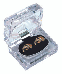 Crystal style Double Ring Box