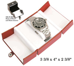 Black Watch Snap-Tab Leatherette Box