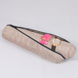 Jewelry Roll w/ Zipper Pouch