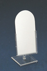 Small Counter Top Glass Mirror