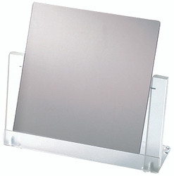 Frosted Finish Square Glass Mirror (Til-table)