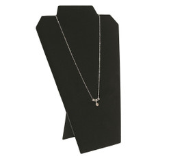 "Black 12 1/2""H Necklace Display with Easel_II"