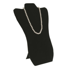 "Black 14 1/8""H Necklace Display with Easel"
