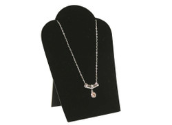 "Black 5 1/4""H Necklace Display with Easel"
