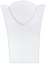 "White 11 3/8""H Necklace Display with Easel_II"