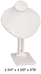 White Adjustable Angle Stand Busts