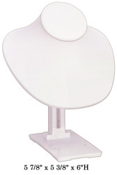 White Adjustable Angle Stand Large Jewelry-Display