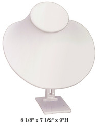 White Adjustable Angle Stand Large Neck