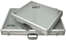 Large Glass-Top Attache Case