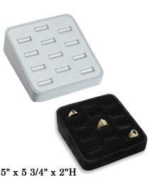 12-Slot Ring Tray Display