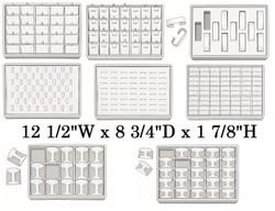 Medium Stackable Showcase Trays