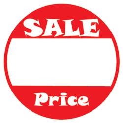 "1"" Self Adhesive Pre-Printed ""SALE Price"" Labels (500 labels)"
