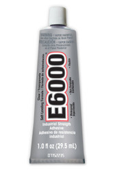 E6000 Super Clear Adhesive 1.0Fl. Oz