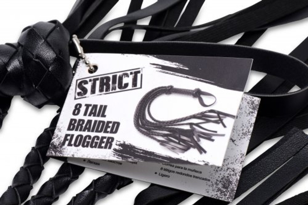 8 Tail Braided Flogger
