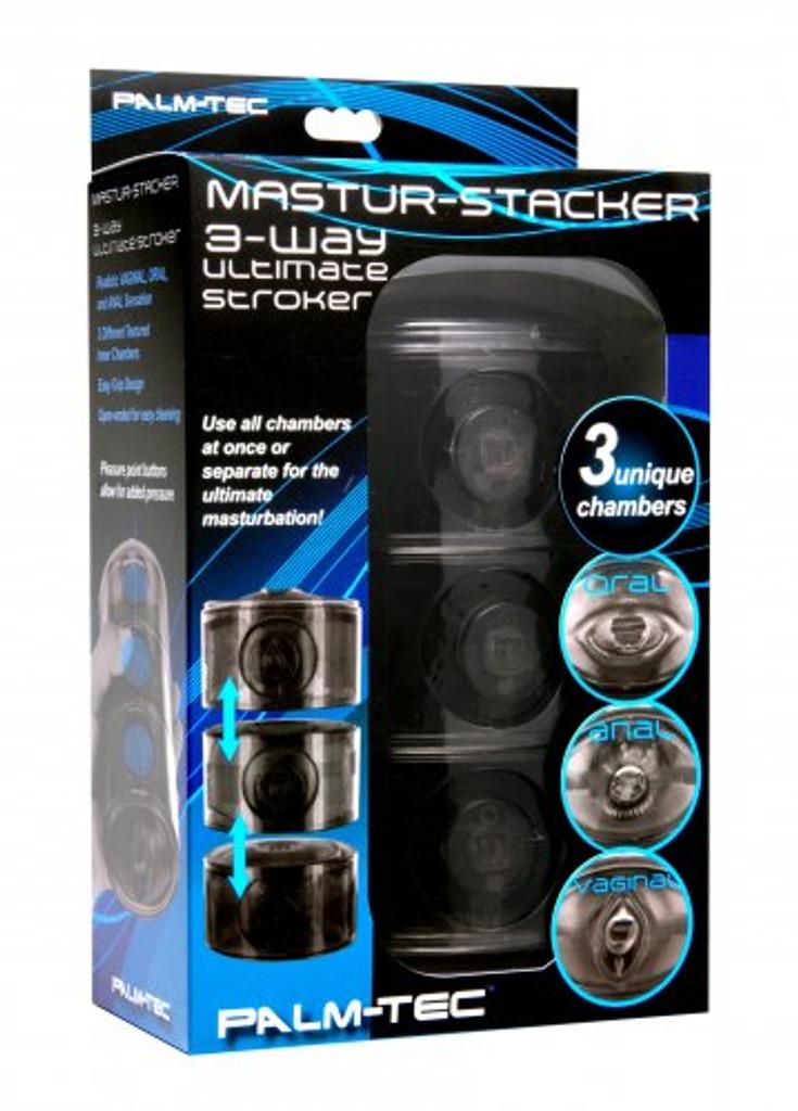 Mastur-Stacker 3 Way Ultimate Stroker (packaged)