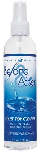 Before and After Anti-Bacterial Adult Toy Cleaner 8 Fl. Oz.