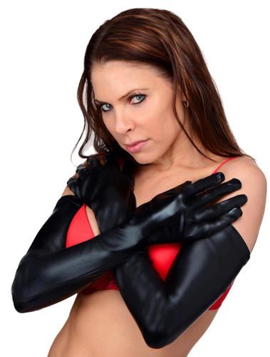 Dripping Wet Opera Length Gloves