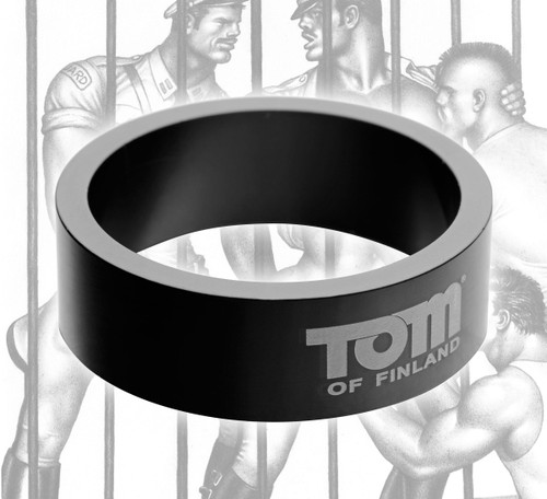 Tom of Finland 50mm Aluminum Cock Ring (TF3908)