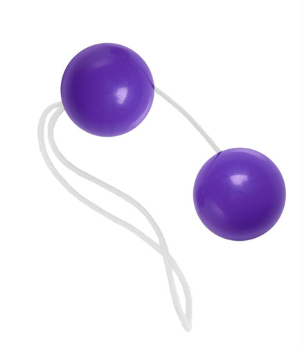 Purple Vaginal and Anal Beads