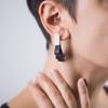 Silver Winged Earrings