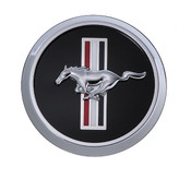 MUSTANG CENTER CAP WITH PONY AND BAR