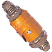 Bayonet Locking Dry Break Plugs with 8mm Flow Hydraulics/Water/Oil
