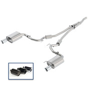 2018 MUSTANG 2.3L ECOBOOST CAT-BACK SPORT EXHAUST SYSTEM WITH CHROME TIPS