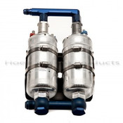 Bosch - Dual Fuel Pump Assembly, -8 Inlet / -6 Outlet Manufacturer: Bosch Part Number: FP-DUAL