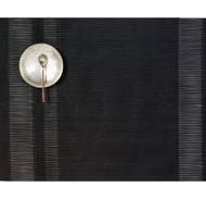Tuxedo Stripe Placemat - Black