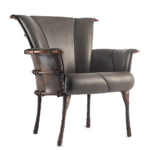 Navajo Dining Chair - Carbon - Back